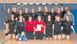 SW Havixbeck (Fünfter) Frauen 1-Turnier 40. Handball-Dreikönigsturnier in Havixbeck 6. Januar 2018