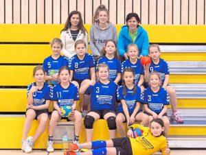 Turnier weibliche Jugend E Handball SW Havixbeck 40. Dreikönigsturnier 4. Januar 2018 Foto: Klaus Schulte