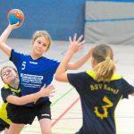 Turnier weibliche Jugend E Handball JSG HLZ Ahlen 40. Dreikönigsturnier 4. Januar 2018 Foto: Klaus Schulte